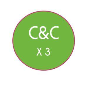 c&c x 3